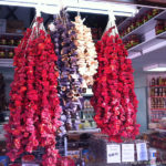 Colourful produce in shop - North Cyprus Pictures