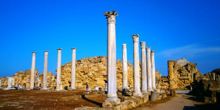 Ruins at Salamis 1 - North Cyprus Pictures