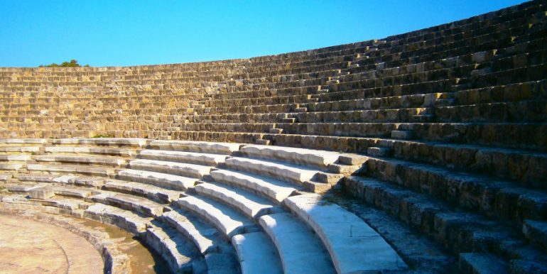 Ruins at Salamis 2 - North Cyprus Pictures