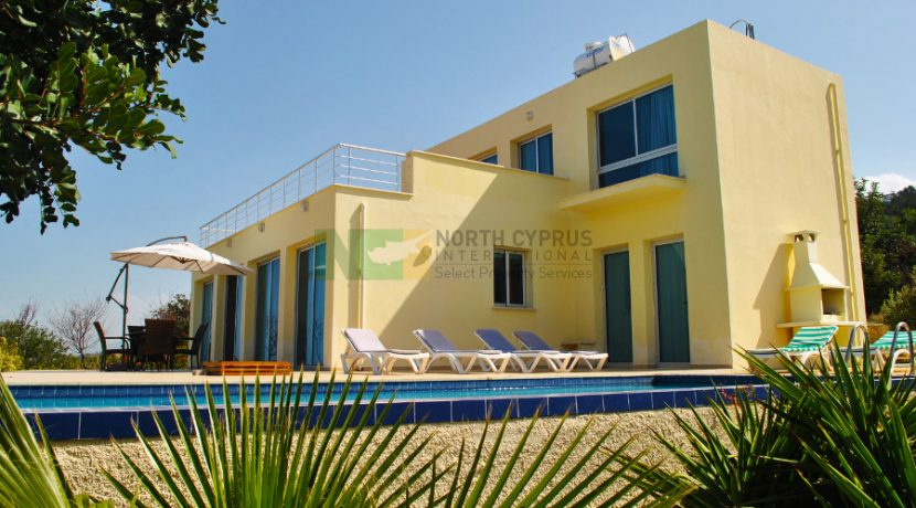 North Cyprus International - North Cyprus Property - Palm View Cliff Villa 13