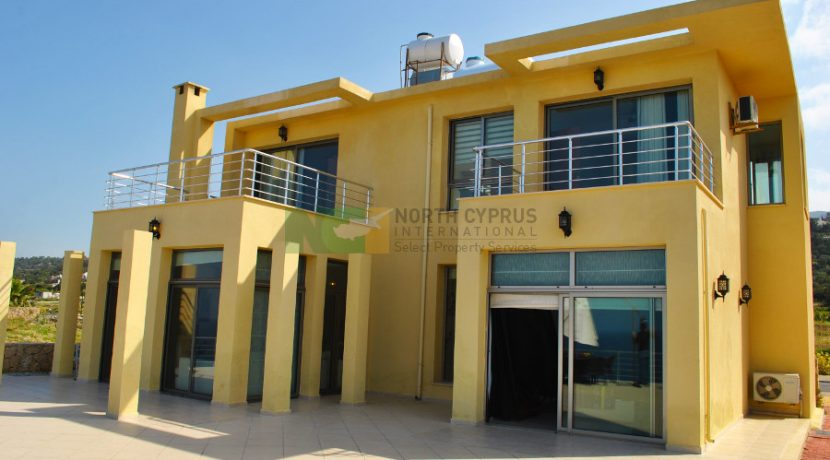 North Cyprus International - North Cyprus Property - Esentepe Cliff Top Villa 4