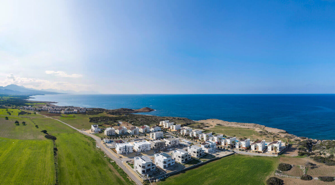 Tatlisu Bay Luxury Apartments Arial Views - North Cyprus Property 2