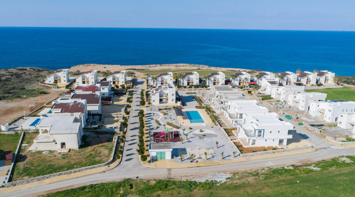 Tatlisu Bay Luxury Apartments Arial Views - North Cyprus Property 3