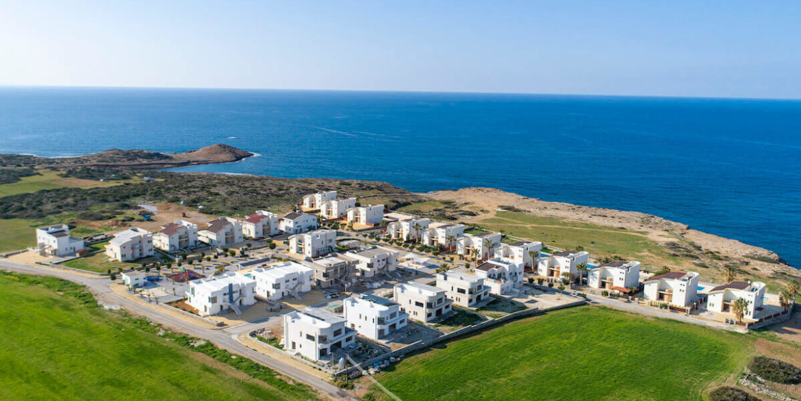 Tatlisu Bay Luxury Apartments Arial Views - North Cyprus Property 4