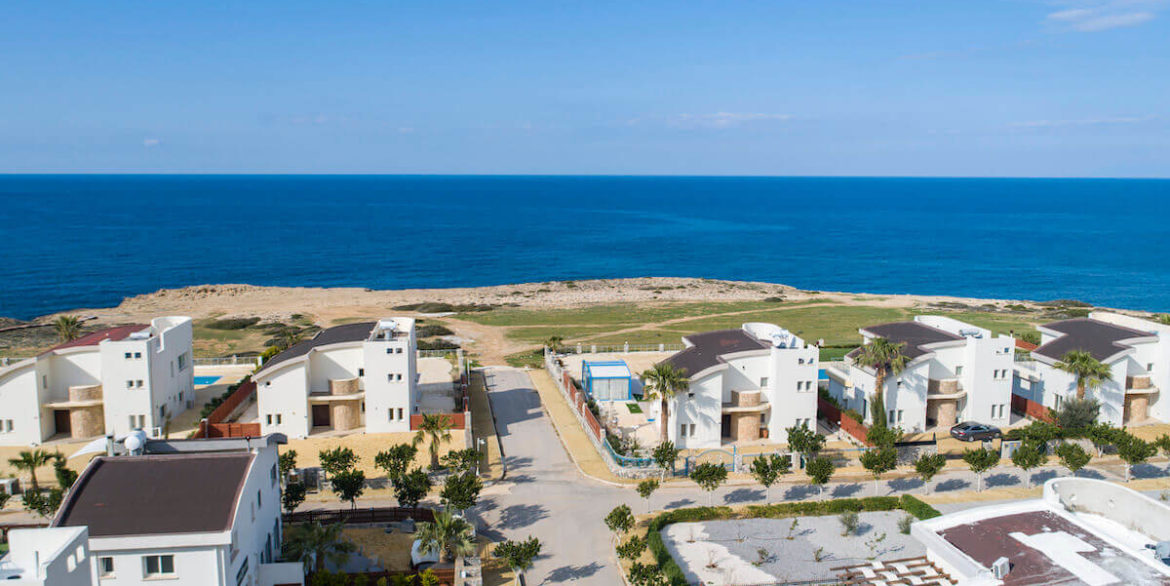 Tatlisu Bay Luxury Villas Arial Views - North Cyprus Property 1