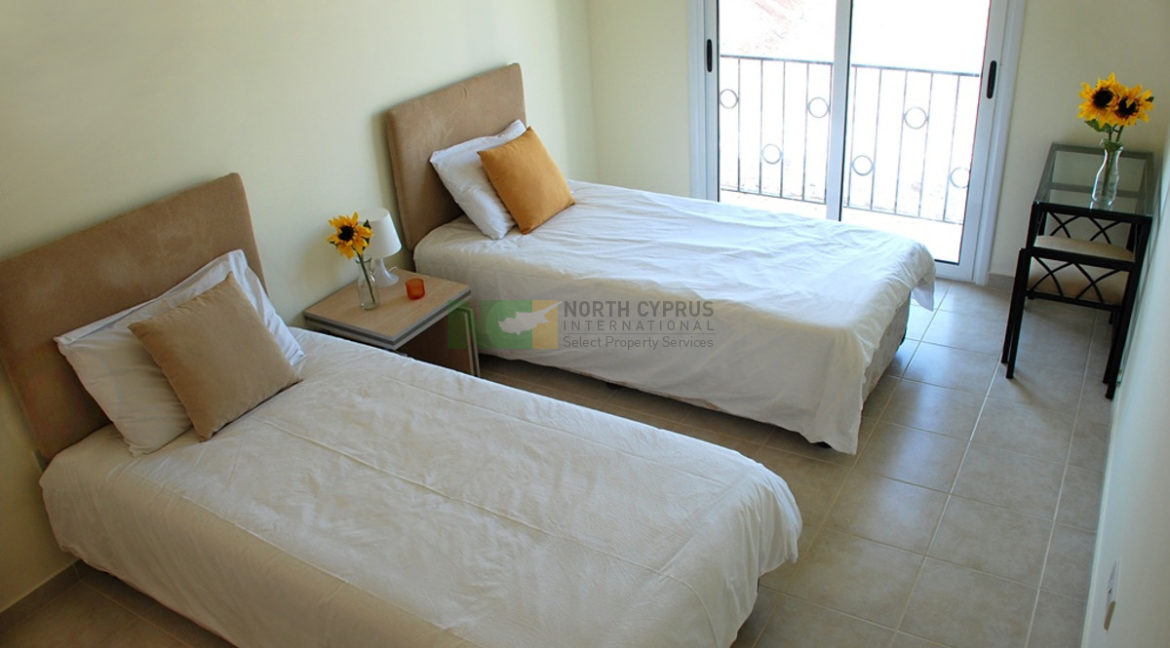 East Coast Hillcrest Apartment - 2 Bed Seaview 3 - North Cyprus Property