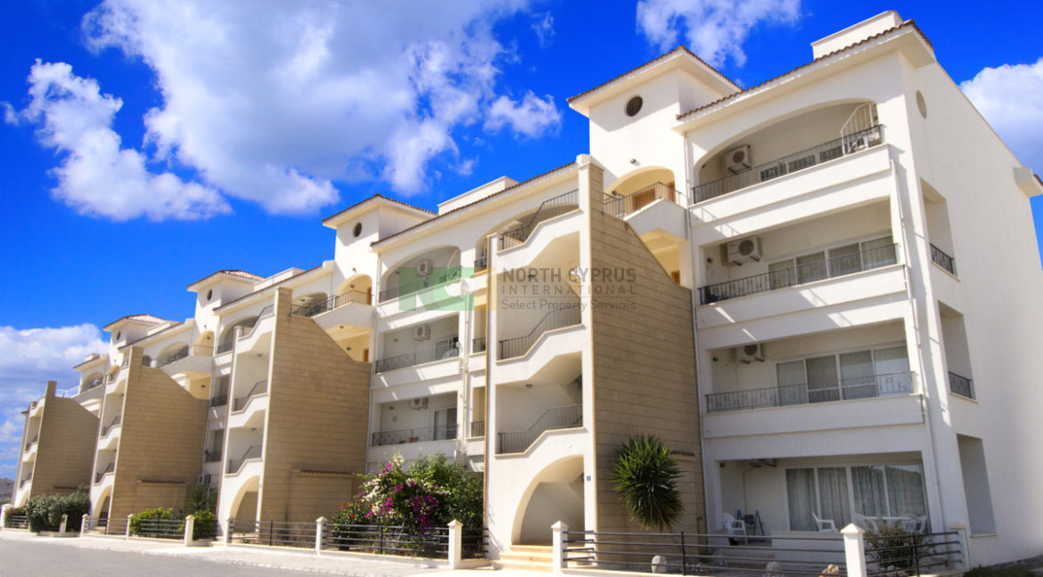 East Coast Hillcrest Apartment - 2 Bed Seaview E 2 - North Cyprus Property