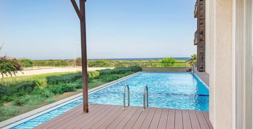 Bafra Beachfront Apartment 3 Bed With Pool - North Cyprus Property 10