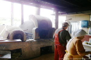 Eco-village traditional bread baking Lefke region - North Cyprus