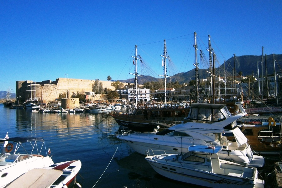 Kyrenia (Girne) Harbour and Castle - North Cyprus