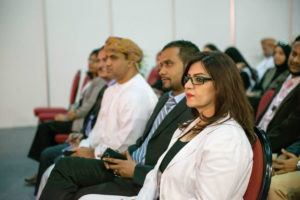 International Delegates at Ghedex Conference, Oman