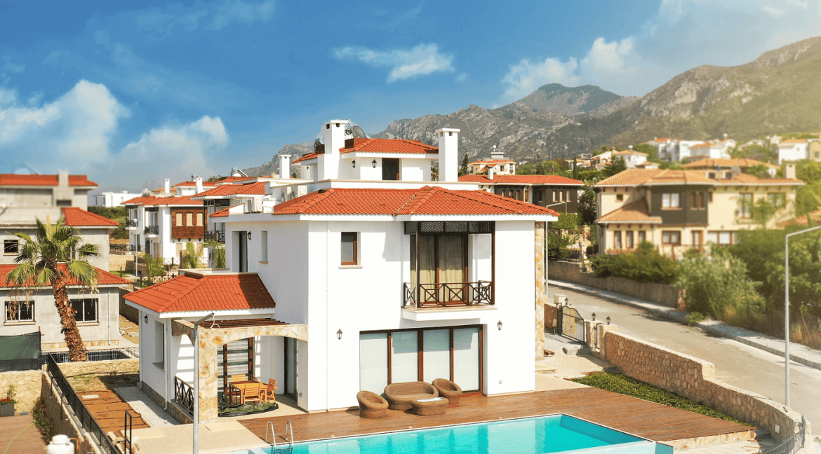 Azure View Bellapais Villa - North Cyprus Property Z6