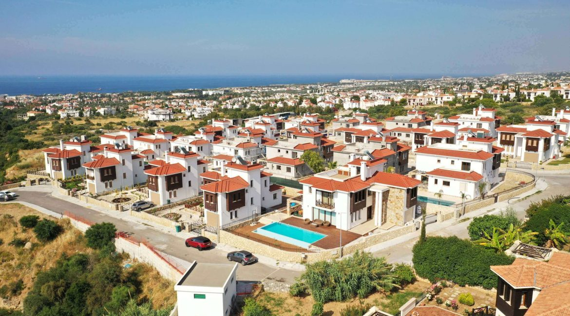 Azure View Bellapais Villa - North Cyprus Property Z9