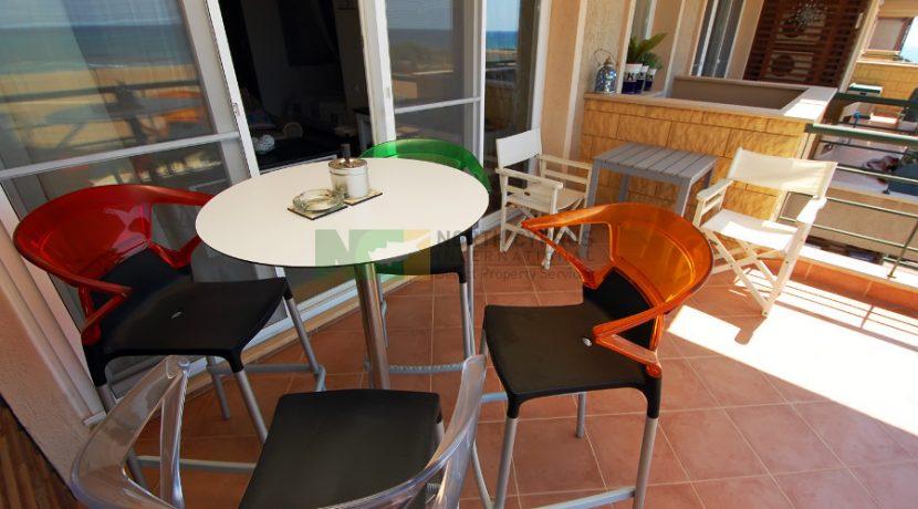 Bafra Beachfront Apartment - 1 B 23 - North Cyprus