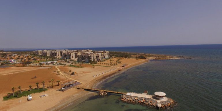 Bafra Beachfront Apartments Exterior - North Cyprus Property B2