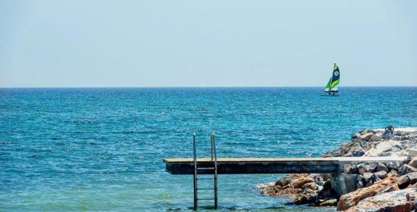 Bafra Beachfront Apartment 3 Bed with Balcony