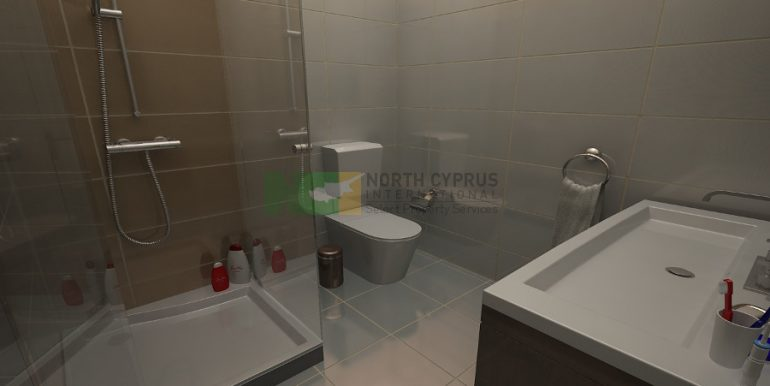 Catalkoy Modern Apartment 2 Bed- 12 - North Cyprus