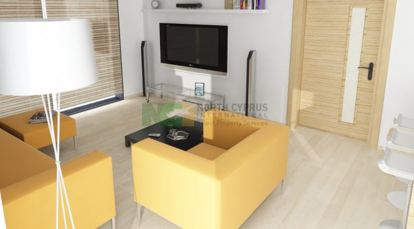 Catalkoy Modern Apartment 2 Bed- 2 - North Cyprus