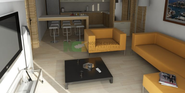 Catalkoy Modern Apartment 2 Bed- 3 - North Cyprus