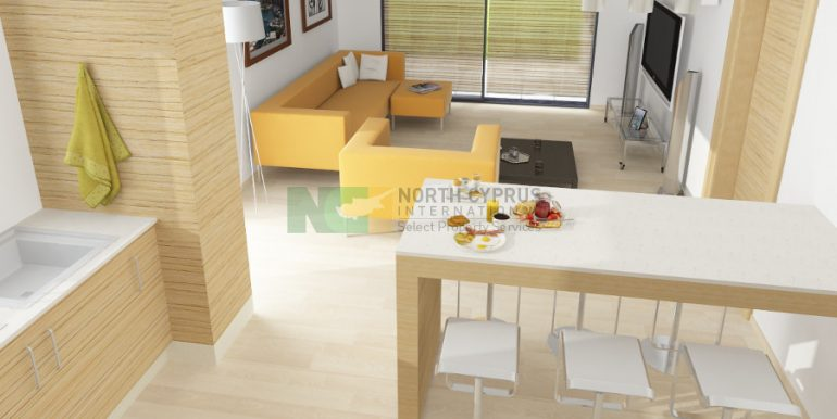 Catalkoy Modern Apartment 2 Bed- 4 - North Cyprus