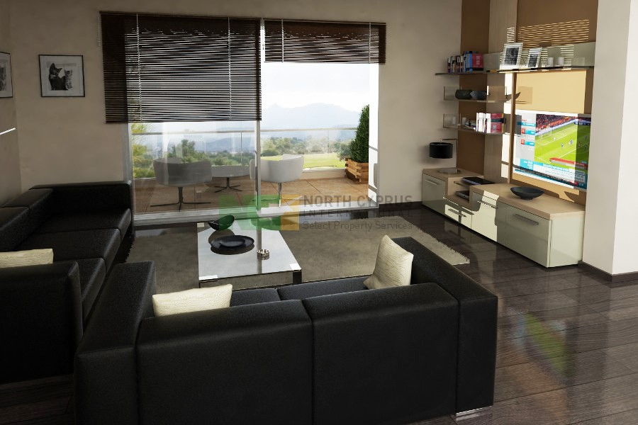 Kyrenia Urban Apartment – 3 Bed