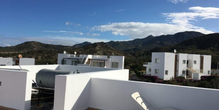 Paradise Hillside Penthouse 2 Bed Z6 - North Cyprus Property