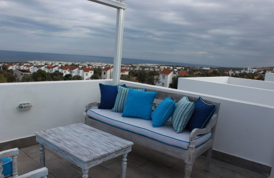 Fairway View Semi Detached Villa EX6 - North Cyprus Properties