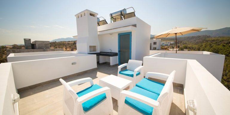 Fairway View Semi Detached Villa X28 - North Cyprus Properties