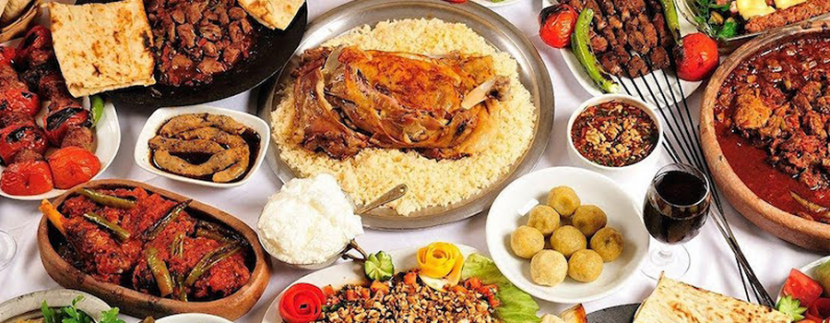 Iftar sofrasi- Turkish Food