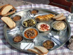 Traditional North Cyprus Food