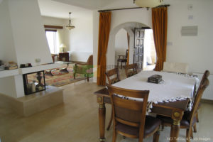 Traditional Style villa interior in North Cyprus