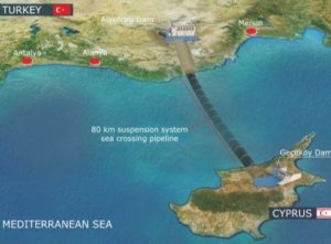 North Cyprus Water Pipeline Connection - 1