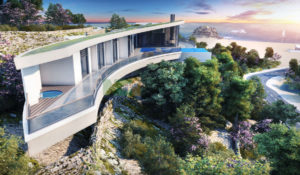 Secret Valley Luxury Designer home close to Kyrenia