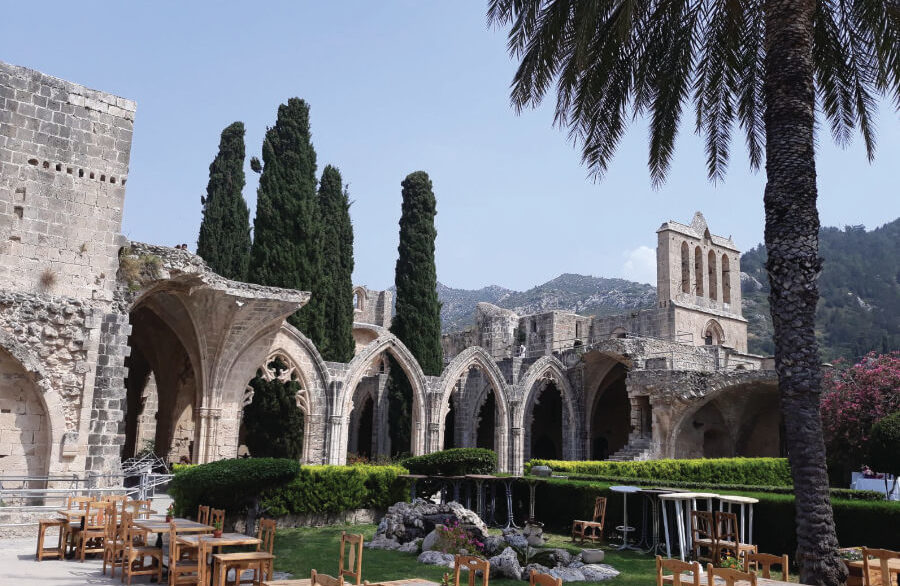 Bellapais Abbey - Kyrenia - North Cyprus