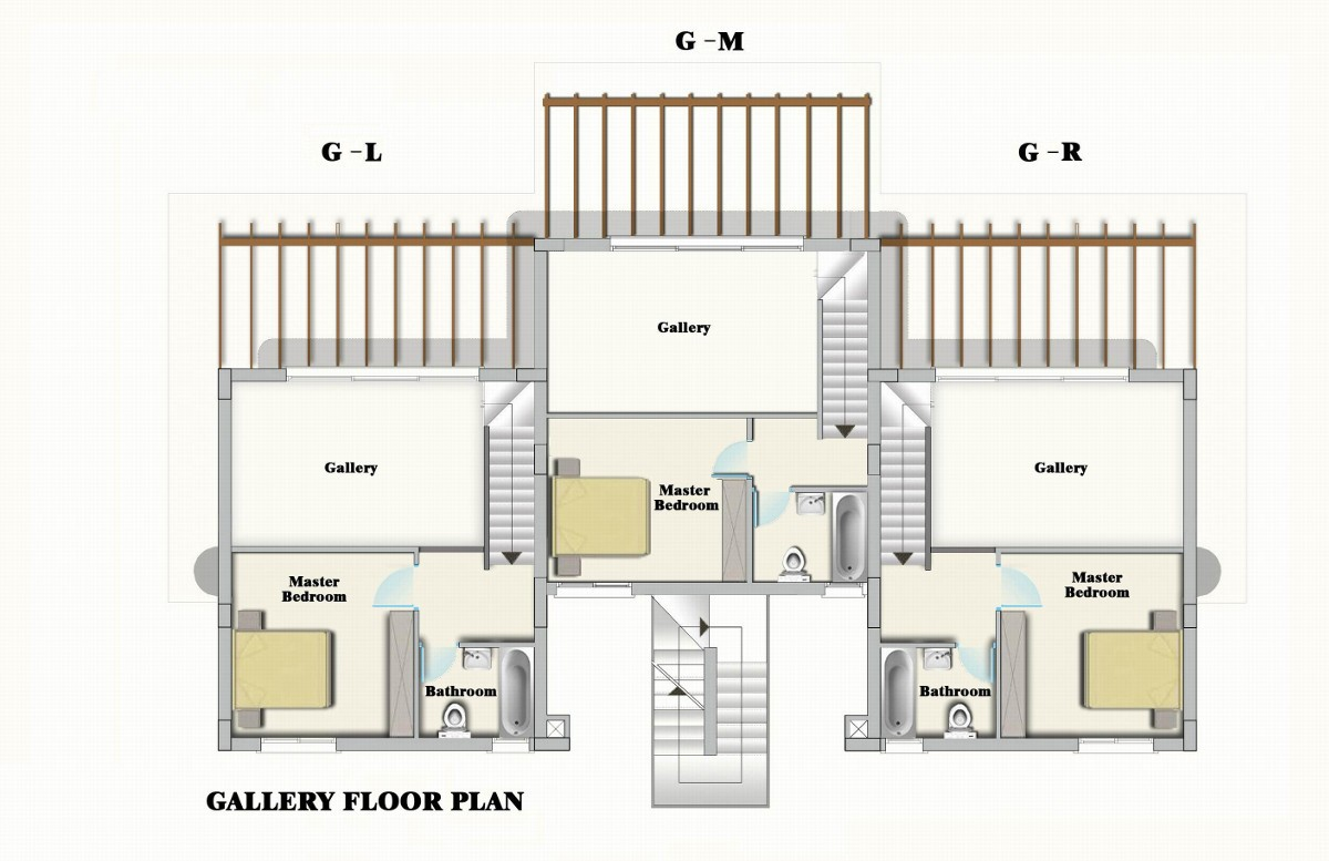 Bahceli seaview garden apartment north cyprus property for Duplex apartment floor plans