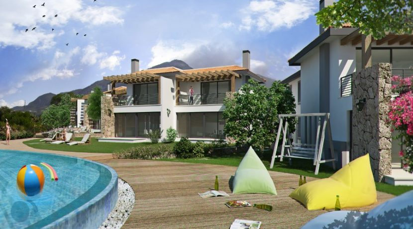 Carob Luxury Semi Detached Beach Villas   3 - North Cyprus Property