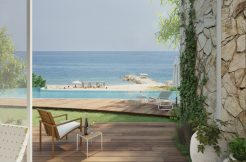 Carob Luxury Semi Detached Frontline Beach Villas 2 - North Cyprus Property