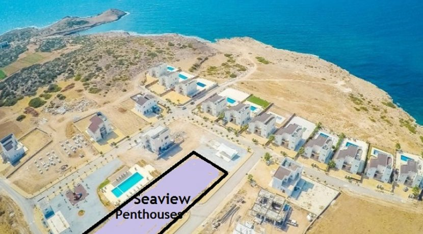 Tatlisu Bay Seaview Luxury Penthouses 1 - North Cyprus Property