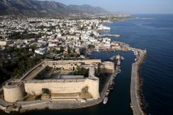 Kyrenia Kastle and City View