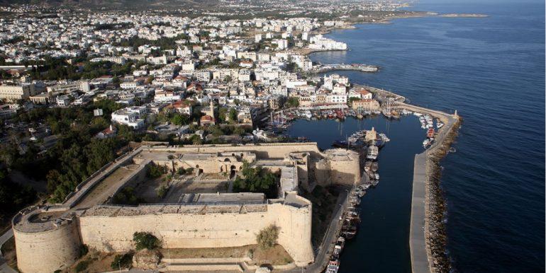 Kyrenia Kastle and City View
