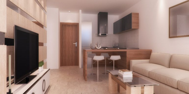 Bogaz Towers Residence One Bedroom Flat 1 - North Cyprus Property