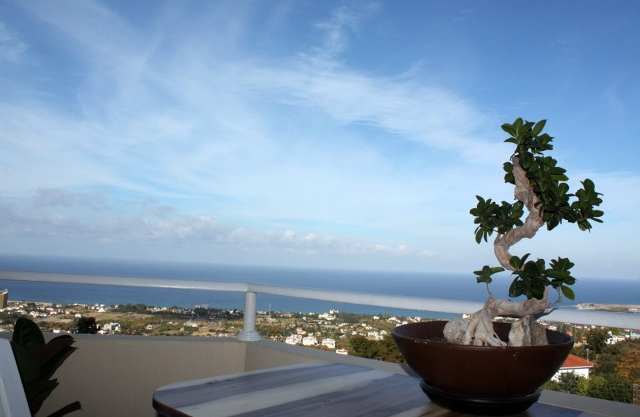 Lapta Peak SeaView Apartment 3 Bed 1 - North Cyprus Property