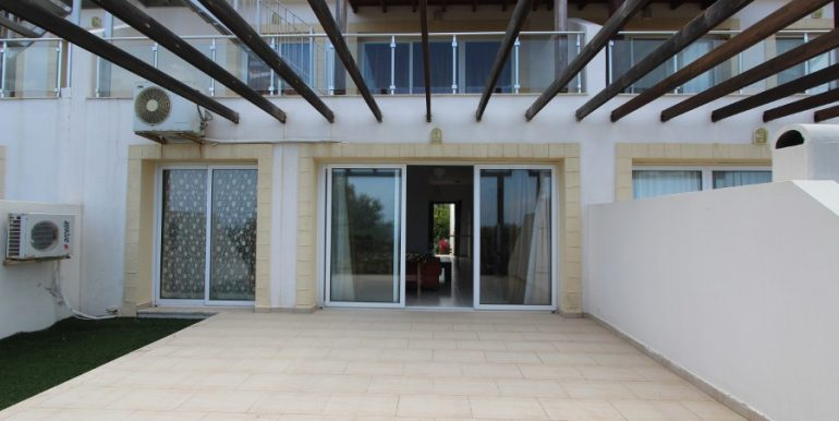 Esentepe Seaview Garden Apartment 2 Bed 10 - North Cyprus Property
