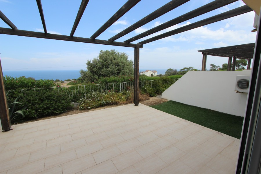 Esentepe Seaview Garden Apartment 2 Bed
