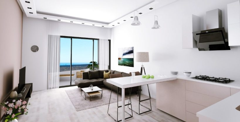 Kyrenia Heights Ultra-Modern 1 Bed Apartment 1 - North Cyprus Property