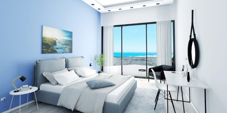 Kyrenia Heights Ultra-Modern 1 Bed Apartment 2 - North Cyprus Property