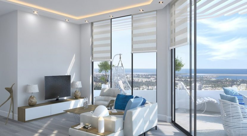 Kyrenia Heights Ultra-Modern 2 Bed Apartment 1 - North Cyprus Property