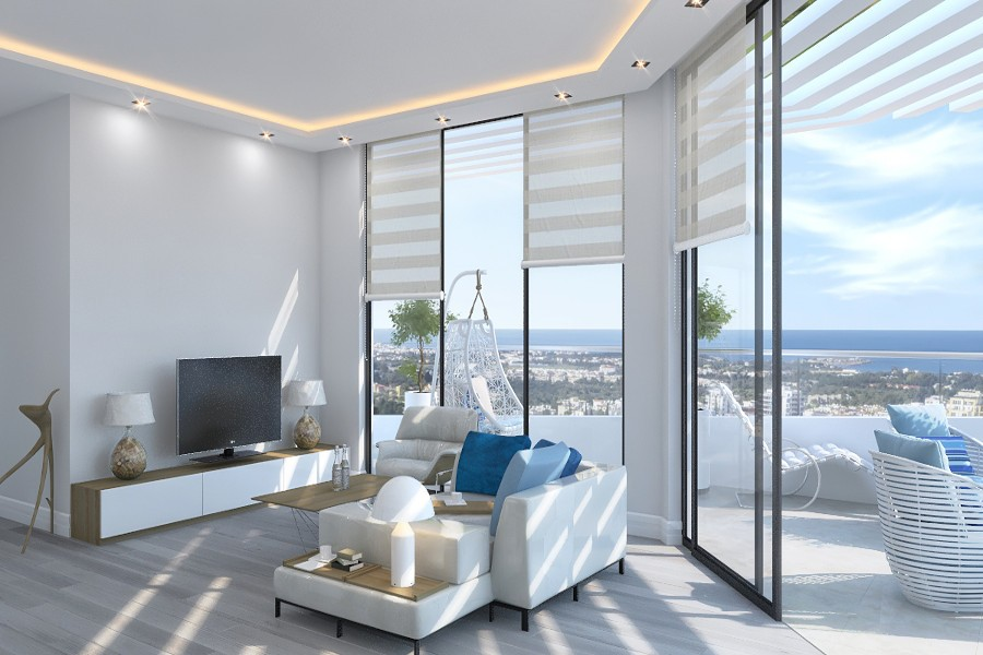 Kyrenia Heights Ultra-Modern 2 Bed Apartment