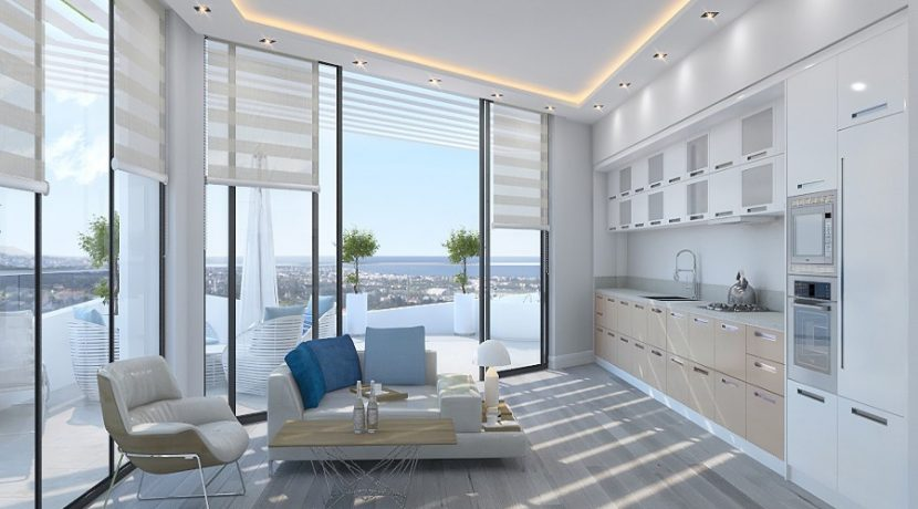 Kyrenia Heights Ultra-Modern 2 Bed Apartment 2 - North Cyprus Property