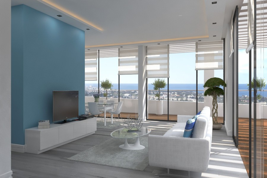 Kyrenia Heights Ultra-Modern 3 Bed Apartment